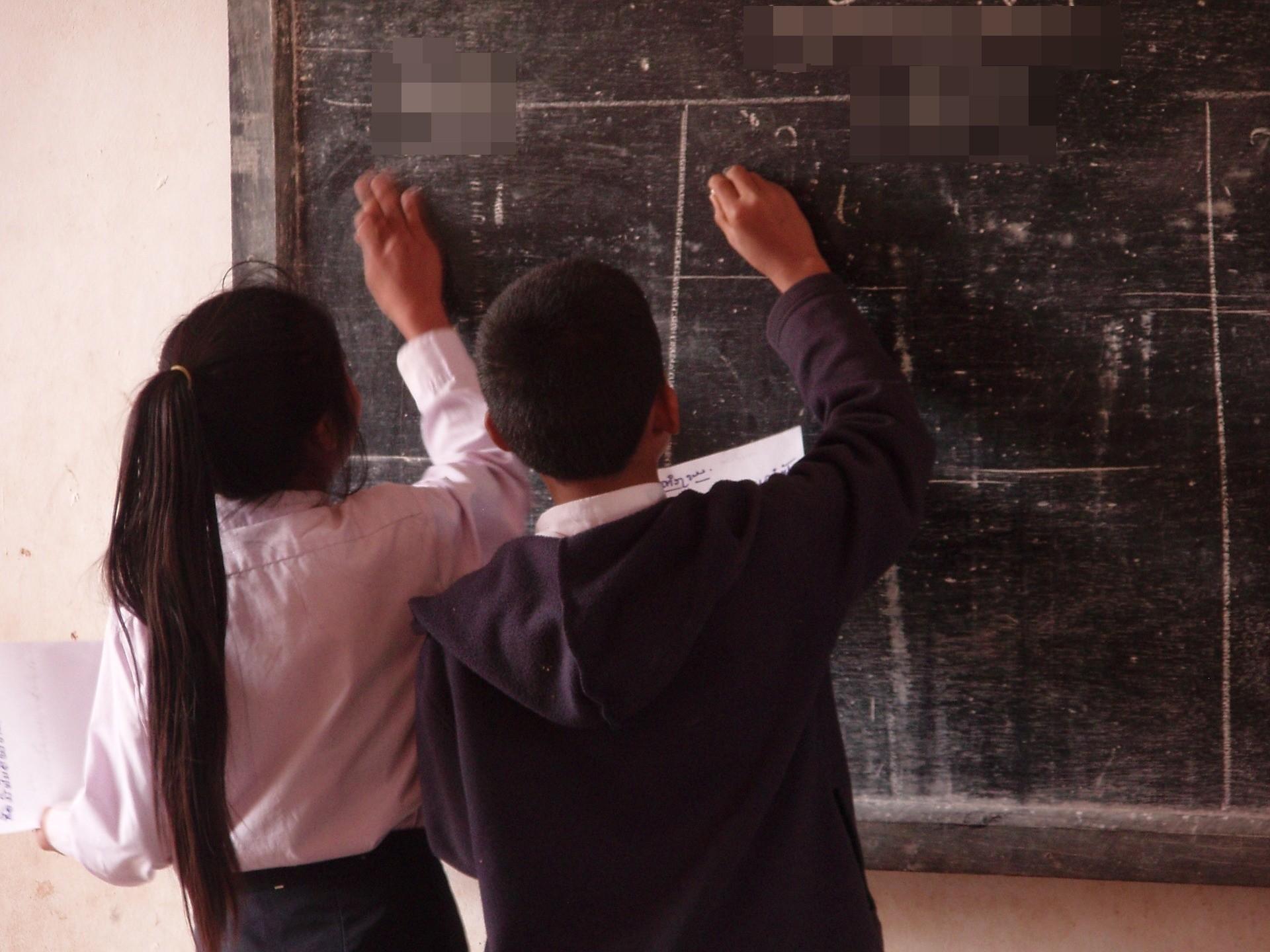 ▲教室,黑板,學生,校園,小學生。(圖/取自免費圖庫Pixabay)