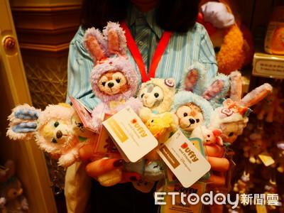 影/100顆復活節蛋藏香港迪士尼!