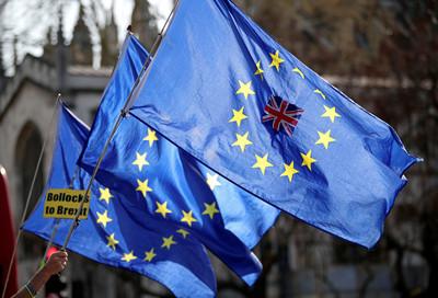 快訊/英國脫歐協議表決結果「脫歐順延」