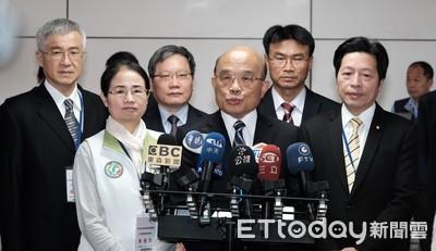 「武統宣講團」擬月底來台 蘇貞昌嗆:如有入境 嚴以驅逐