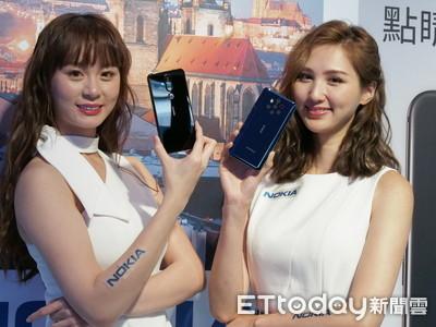 Nokia五鏡頭9 PureView在台亮相