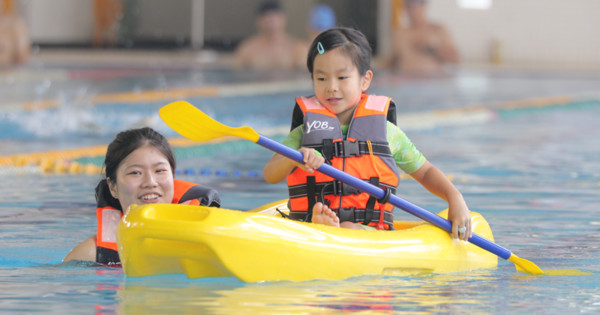 ▲新北運動中心推出兒童節優惠。(圖/新北市政府體育處提供)
