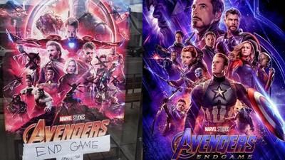 戲院掛上《復聯4》海報搶宣傳 仔細看有點怪? 舊的「翻新」先頂一下