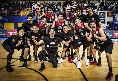 日本男籃確定晉級2020東京奧運