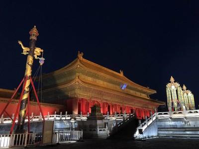 北京故宮天燈萬壽燈 8531萬拍出