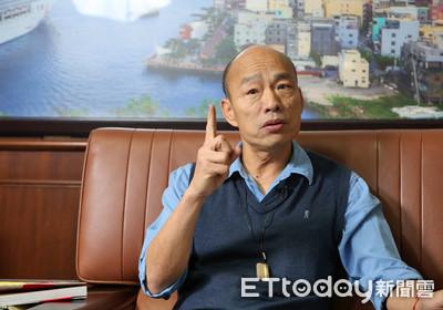 韓國瑜:上任兩個月,感覺像20年