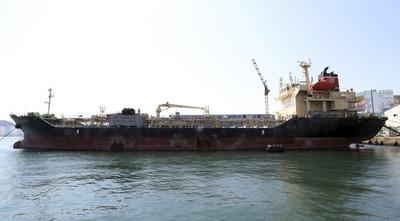 首例!南韓貨船運石油給北韓被扣留