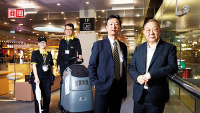 商業周刊/掃遍機場高鐵火車站 4千人軍團掃廁所掃到登興櫃