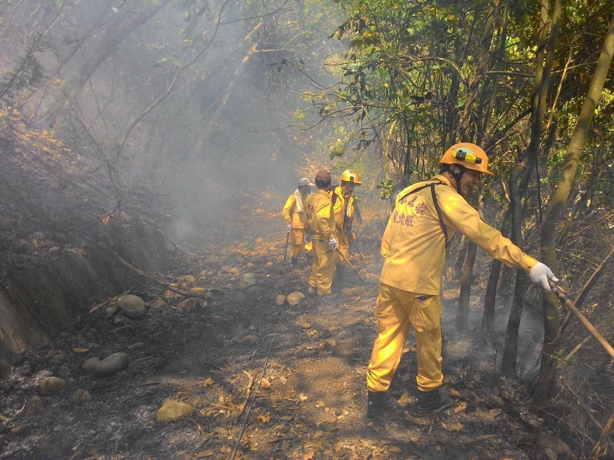 ▲▼林務局表示,每年到清明節都會有森林大火發生。(圖/林務局提供)
