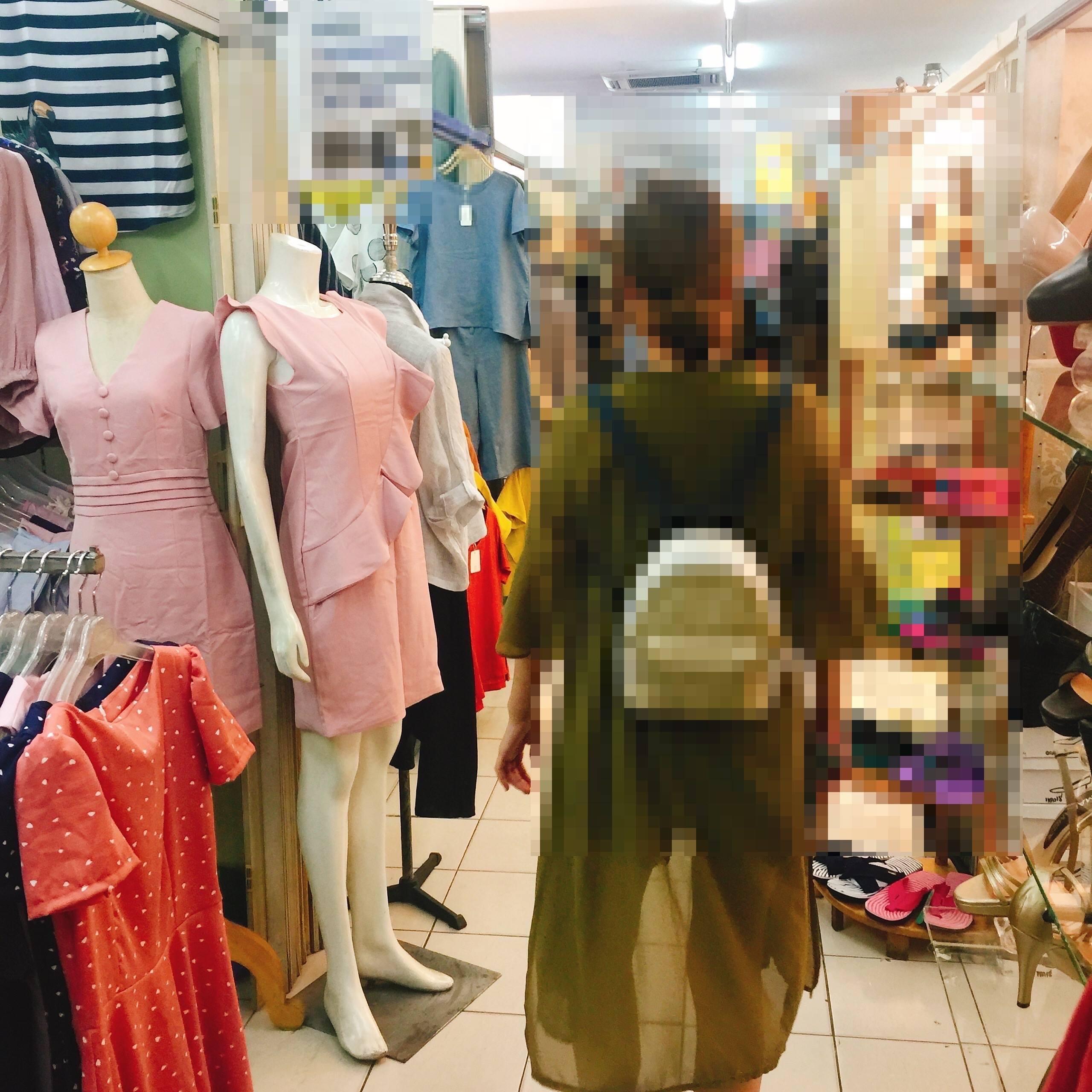 ▲服飾店店員。(圖/Aud❤提供)