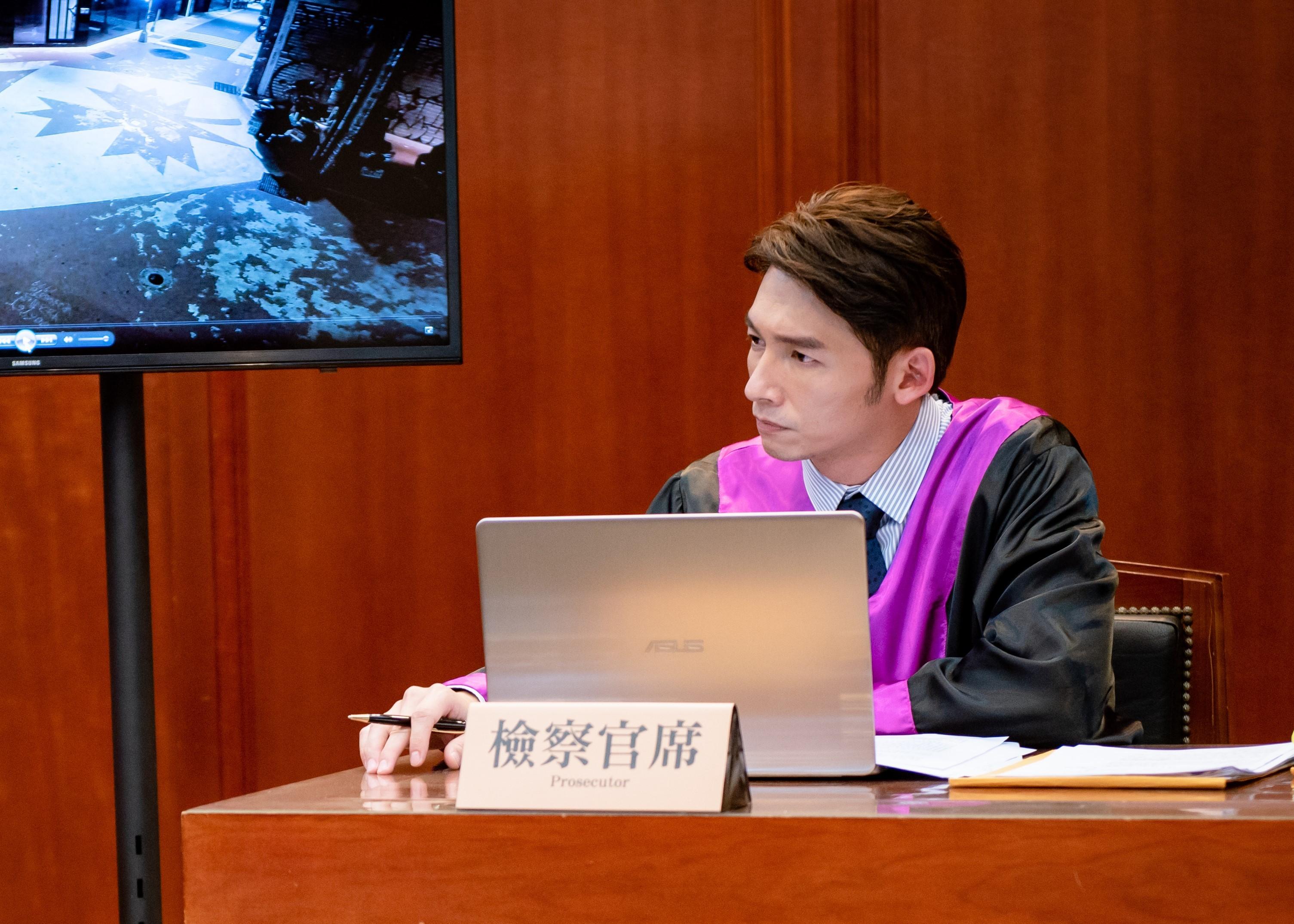 ▲▼天心飾演資深律師 在《最佳利益》霸氣外露。(圖/群之噰、有意思國際傳媒)