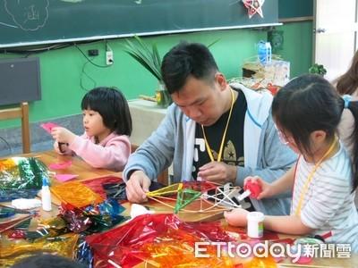 越南媽媽帶孩子做燈籠解鄉愁
