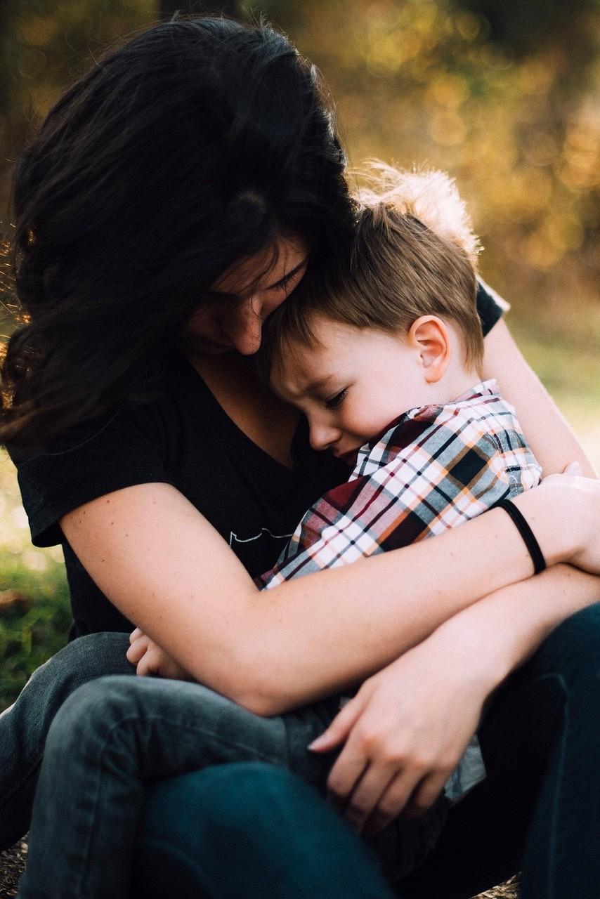 母子(圖/取自免費圖庫pixabay)