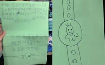 萌妹為了小雞手錶 紙條偷放姊姊床上!內容融化網友