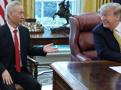 中美經貿談判 劉鶴座位藏亮點