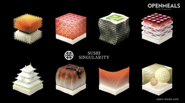 ▲日本食品科技公司推出3D列印壽司。(圖/open-meals.com)