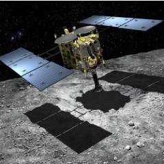 日本隼鳥2號在龍宮 完成人造隕石坑實驗