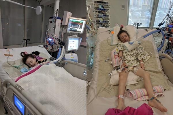 ▲▼5歲女離奇瘦成骨架!媽媽一句「沒戴項鍊」 讓醫師驚醒救回一命。(圖/翻攝自當事人臉書)https://www.facebook.com/kirra.carmichael/photos?lst=100001636378560:100001832327260:1554558195