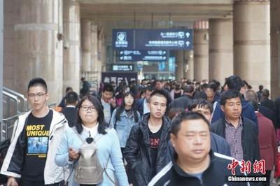 華聞快遞/連假第2天 陸鐵預計接客1054萬