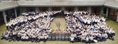 600「young善青年」精舍朝山