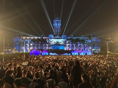 3萬人聚集!總統府音樂會超震撼