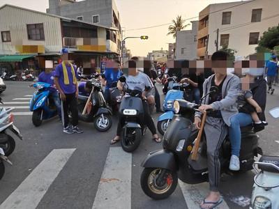 台南下營轎班與民眾嫌隙衝突 警快打強力壓制