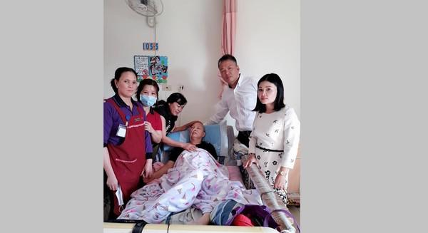 ▲▼越南看護最後順利回到家鄉。(圖/翻攝自爆料公社)