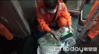 長征40小時 海巡破今年最大漁船毒品