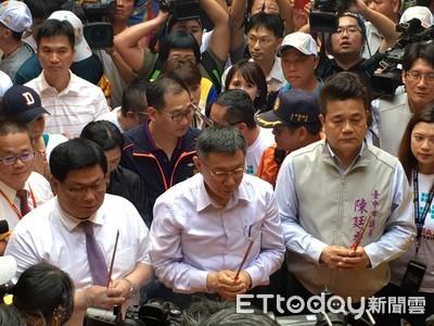 柯文哲組台灣民眾黨 中市議員考慮入黨