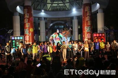 台南市議會展現團結 小小台灣燈會結束