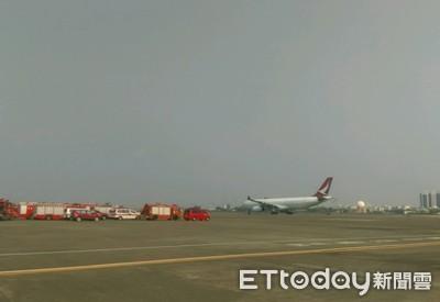 飛機引擎起火 港龍317乘客驚嚇