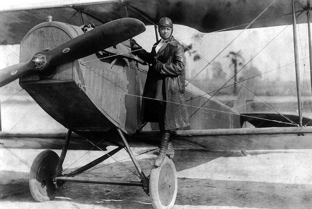 ▲Bessie Coleman女飛行員。(圖/翻攝自維基百科)
