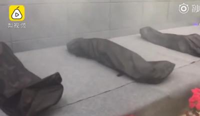 大學生躺屍袋「模擬死亡」 網掀論戰