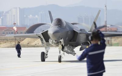 F-35A戰機10月在南韓首公開亮相