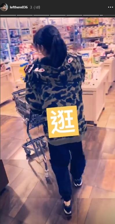 ▲修杰楷陪梧桐妹吃飯、逛超市。(圖/翻攝自Instagram/修杰楷)