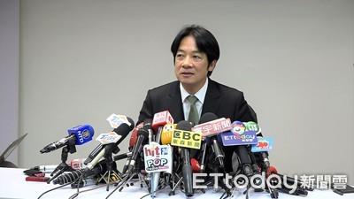 快訊/不甩民進黨延後總統初選   賴清德4點聲明「參選到底」