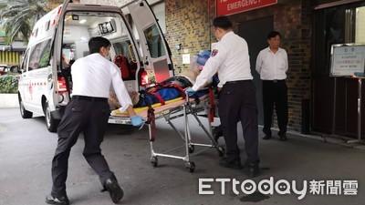 即/八德路工地意外 工人高處墜落送醫