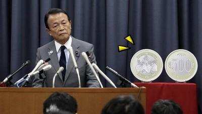 日本換新幣「500圓怎麼那麼大」!網友狂P惡搞:賺「大」錢囉