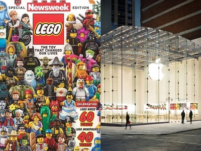 LEGO擊敗Apple成超級品牌榜首