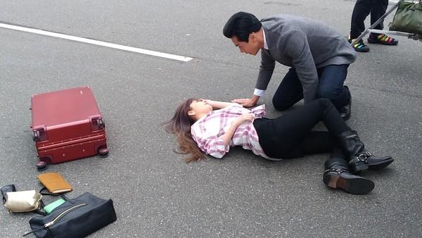 ▲許維恩拍港劇《法證先鋒》,原來武打動作明星是這麼難當的,。(圖/鼎盛文化傳媒提供)