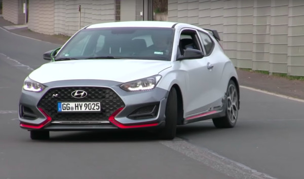 ▲Hyundai Veloster N 。(圖/翻攝自YouTube/JvDSupercars)