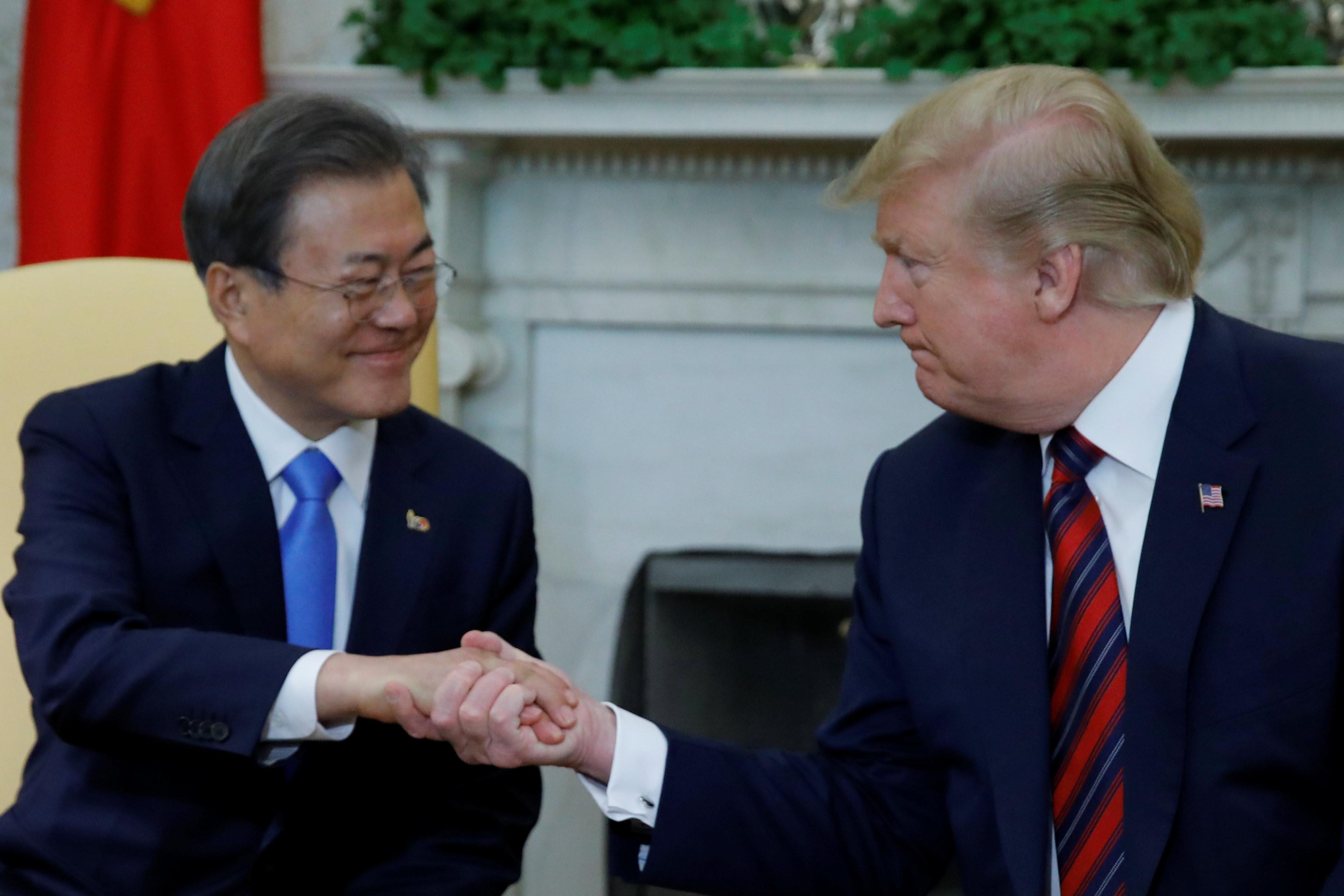 ▲川普考慮邀請南韓參加9月的G7峰會。(圖/資料照/路透社)