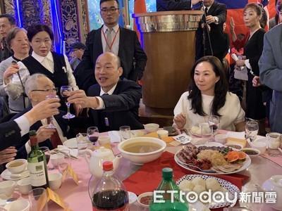 韓在美稱2020年1/11見 王:僑胞回來投票
