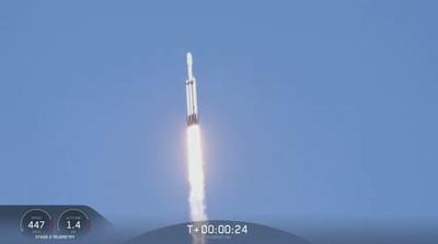 福衛七號下一趟!獵鷹火箭首次商轉成功