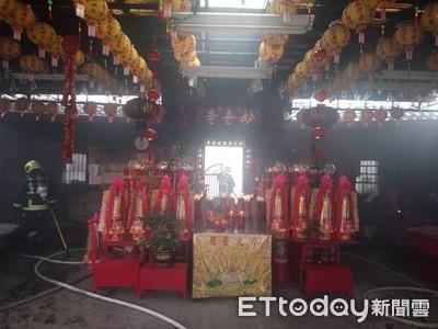 寺廟疑遭縱火 住持是陳志朋爸爸