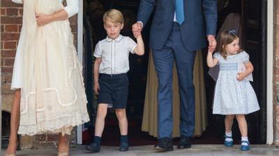 英國皇室規定「8歲前只能穿短褲」 喬治王子冬季露腿才貴氣