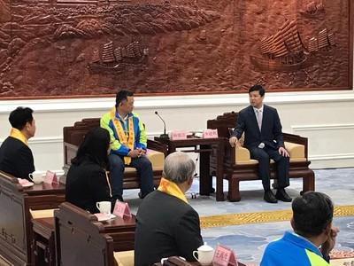 楊鎮浯會莆田市長 與湄洲島簽旅遊合作框架