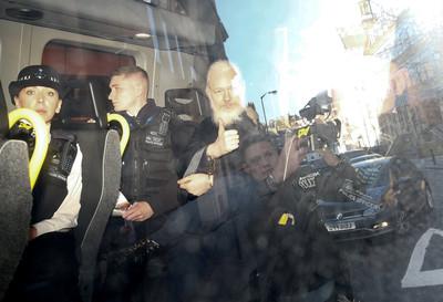 維基解密創辦人亞桑傑遭控18罪名