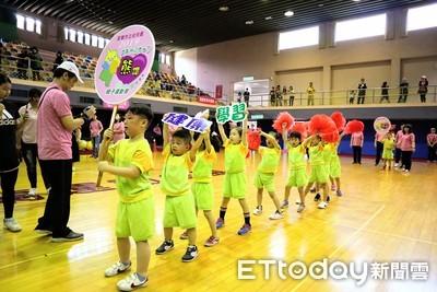宜蘭趣味運動會 764名家長及幼童同樂