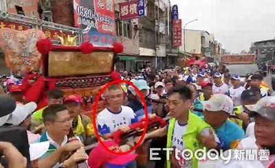 謝惠仁迎接大甲媽 顏清標喊OK啦